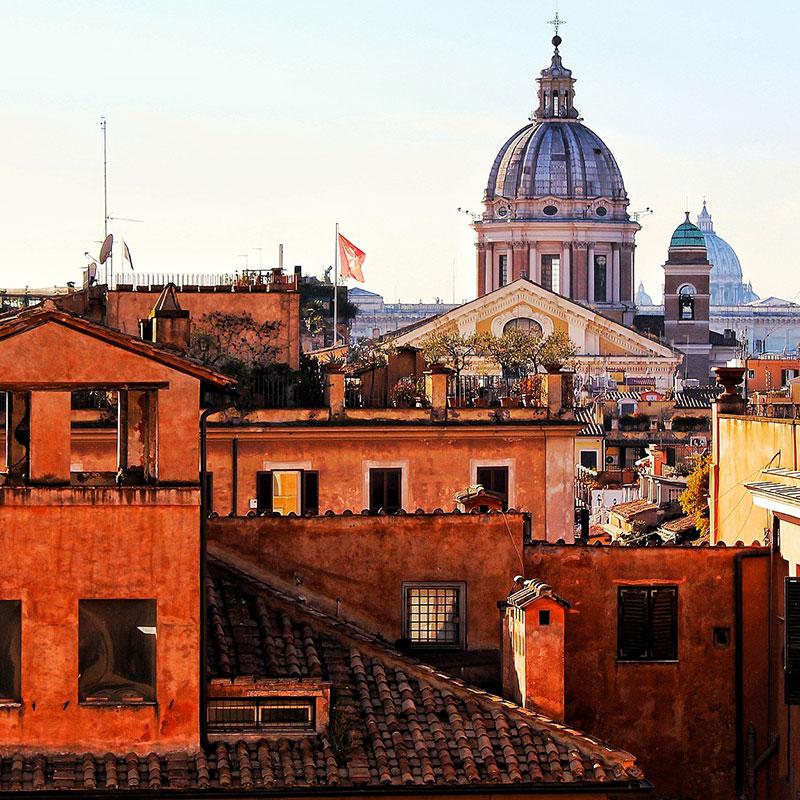 Roma-case