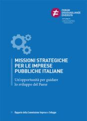 Rapporto Missioni strategiche per le imprese pubbliche italiane