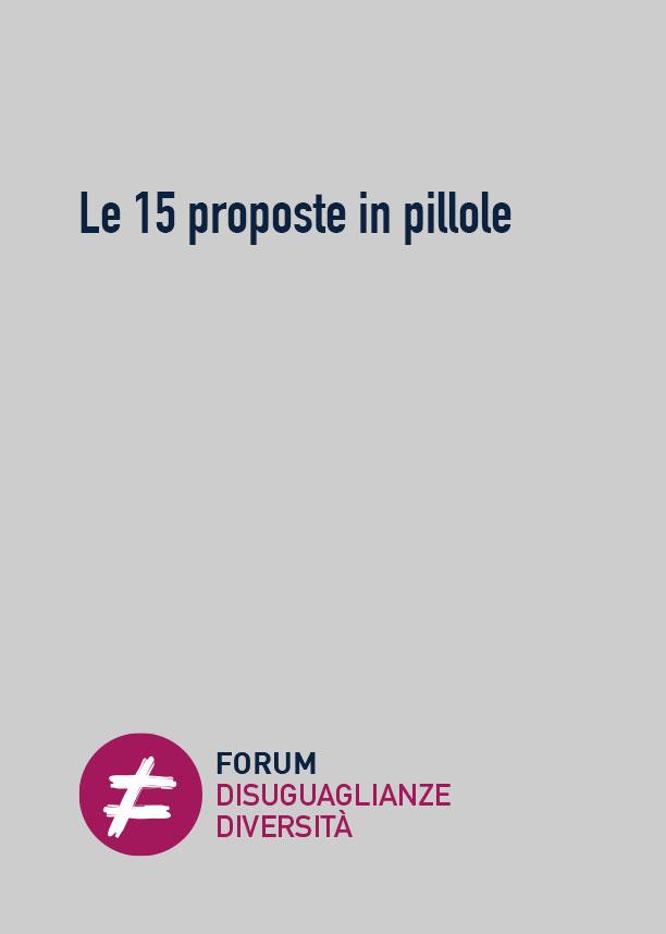 Le 15 proposte in pillole