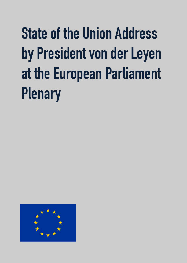 State of the Union Address by President von der Leyen at the European Parliament Plenary