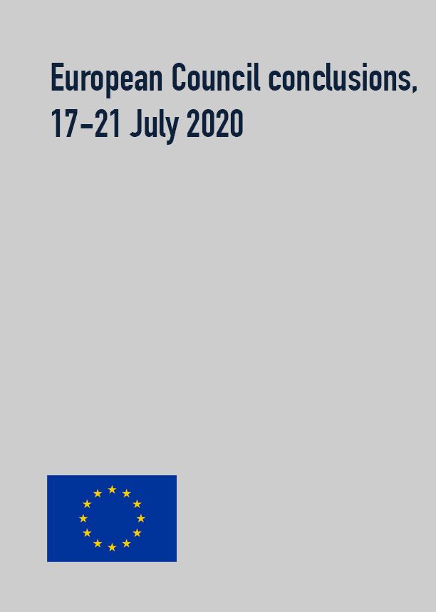 European Council conclusions, 17-21 July 2020