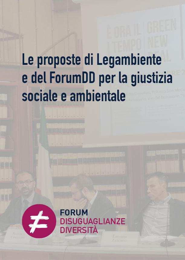 Le proposte di Legambiente e del ForumDD per la giustizia sociale e ambientale
