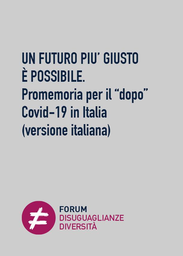 Un futuro più giusto è possibile